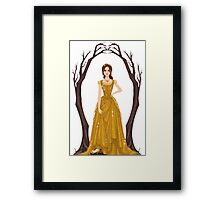 Into the Woods: Cinderella [Princess] Framed Print