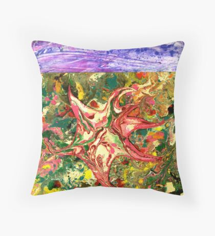 Hidden Star Throw Pillow