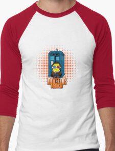 Doctor Minion 10 Men's Baseball ¾ T-Shirt