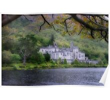Kylemore Abbey, Galway Ireland Poster