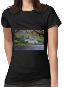 Kylemore Abbey, Galway Ireland Womens Fitted T-Shirt