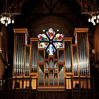 Church organ by warriorprincess