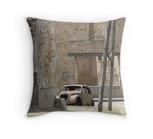 Junction of the main road Throw Pillow