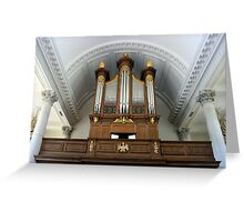 Pipe Organ of The Church of St. Mary the Virgin, Aldermanbury Greeting Card