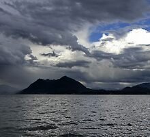 A cloudy day on Lake Maggiore by annalisa bianchetti