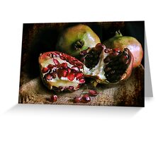 Pomegranates n.2 Greeting Card