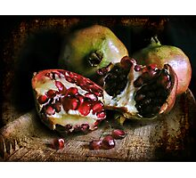 Pomegranates n.2 Photographic Print