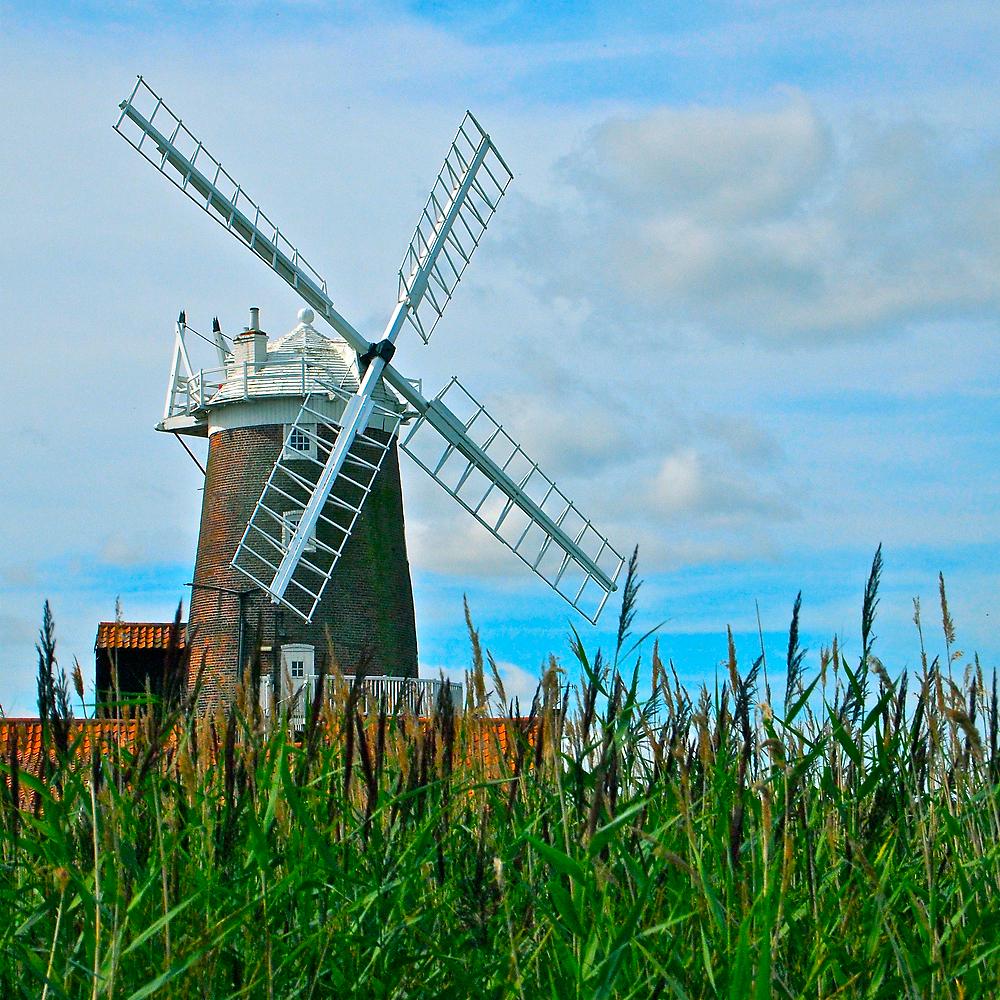 Cley Windmill by George Swann