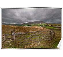 Barley views Poster
