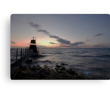 Portishead Lighthouse Canvas Print