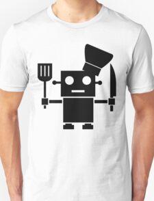 Robot Chef Unisex T-Shirt