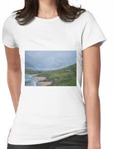 Atlantic Coast, Dingle, Ireland Womens Fitted T-Shirt