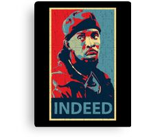 Omar Indeed Canvas Print
