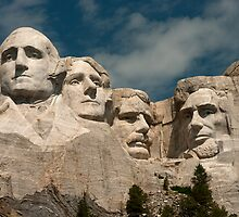 Mount Rushmore by Todd Morton