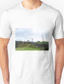 Sheep and Celtic Cross Unisex T-Shirt