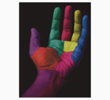 Colorful Hands One Piece - Short Sleeve