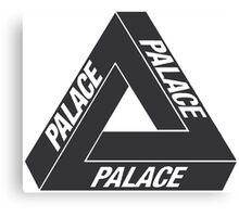 Black Palace Skateboards Tri Ferg Logo Canvas Print