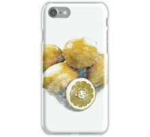 Simply, lemons  iPhone Case/Skin