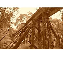 Pemberton Railway Bridge. Photographic Print