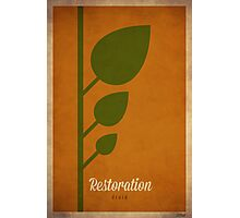 Restoration Druid - WoW Minimalism Photographic Print
