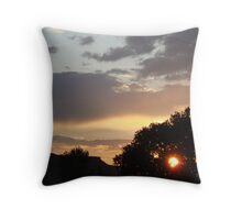 Northern New Mexico Sunset #2 Throw Pillow