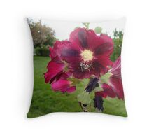 A Flower's Fresh Nectar Throw Pillow