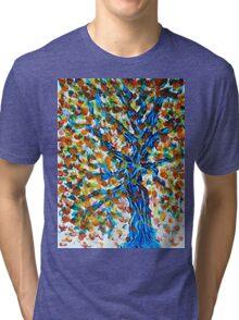 Blue Tree Tri-blend T-Shirt