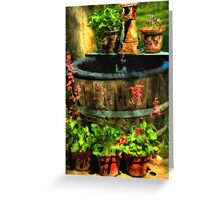 Patio Perfection Greeting Card