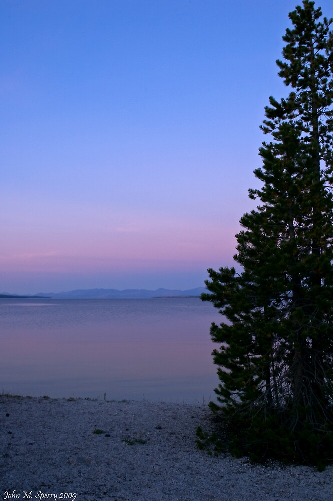 Purple Sunset by John  Sperry