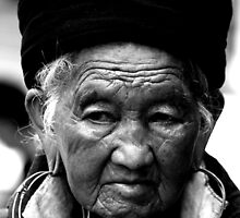 Black Hmong Lady by Claire Rivers