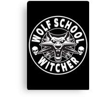 Wolf School - Witcher Canvas Print