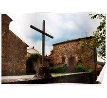 Pieve di Santa Maria all Sovaro Poster