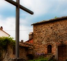 Pieve di Santa Maria all Sovaro Sticker