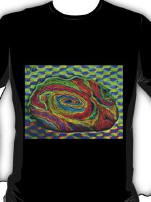 BRAINMAN Optical Illusion Character  T-Shirt