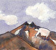 Mount Teide by Marie-louise Bulgin