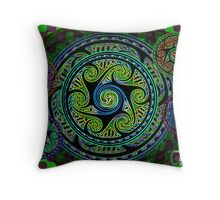 Celtic Knot Sphere Variations Throw Pillow