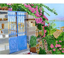 The Blue Gate Photographic Print