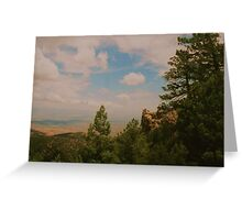 New Mexico overlook ! Greeting Card