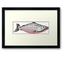 Salmon Gifts Framed Print