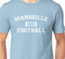 Marseille Football Athletic College Style 1 Color Unisex T-Shirt