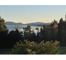 Maine Mountains Photographic Print