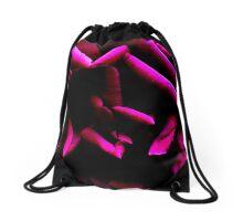 Color Abstract Rose Drawstring Bag