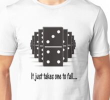 Domino Effect Unisex T-Shirt