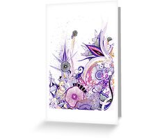 Living Amethyst Greeting Card
