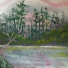 "Boone Dock-11"" x 14""-2009 by linmarie"