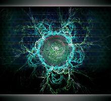 ©DA Magnetic Fields Energy I by OmarHernandez