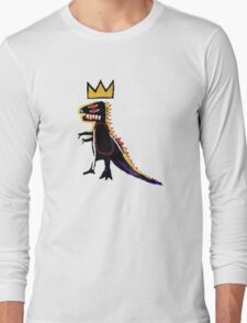 Basquiat Dinosaur Long Sleeve T-Shirt