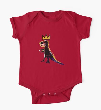 Basquiat Dinosaur One Piece - Short Sleeve