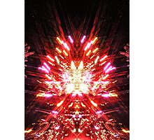 The Arrival of the Trickster in All His Starlit Splendour Photographic Print