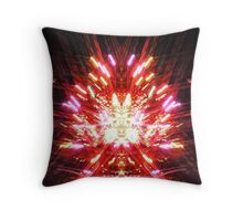 The Arrival of the Trickster in All His Starlit Splendour Throw Pillow